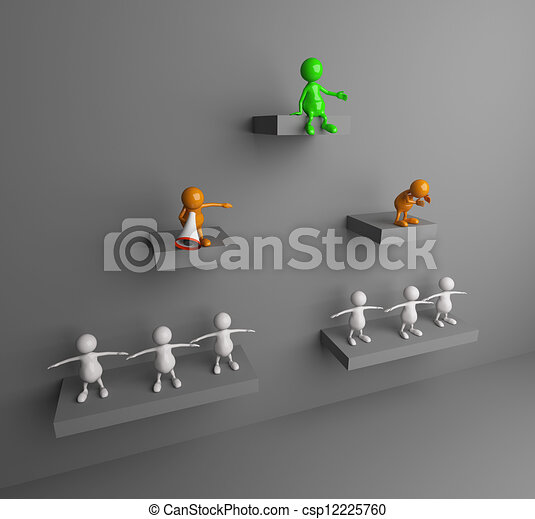 3D People Führung - csp12225760