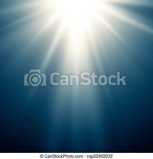 Abstract Magic Blue Light Hintergrund. - csp22402032