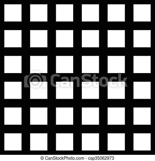 Abstract monochromer Hintergrund, Muster. Nahelos wiederholbar. Vector. - csp35062973