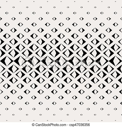 Abstract Vektor Seamless Pyramide Rechteck Schwarzmuster. - csp47036356