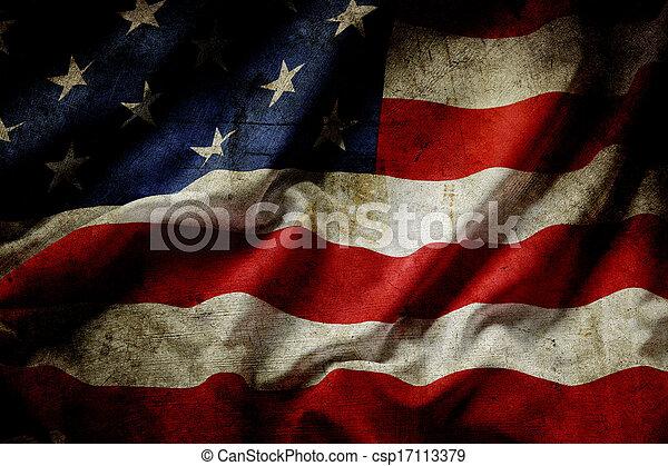 amerikanische markierung - csp17113379