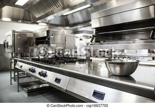 arbeit, ausrüstung, kueche , oberfläche - csp16637700