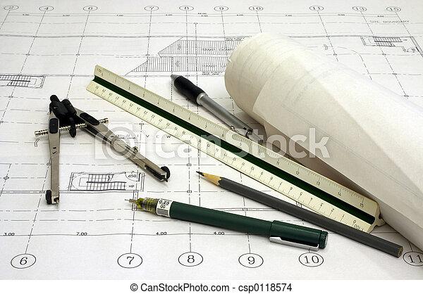 Architekturpläne - csp0118574