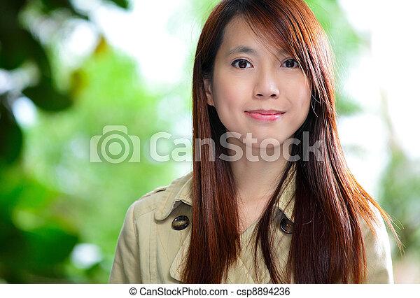 Asiatin. - csp8894236