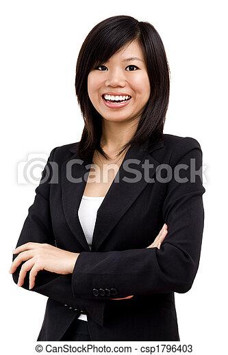 Asiatische Geschäftsfrauen - csp1796403