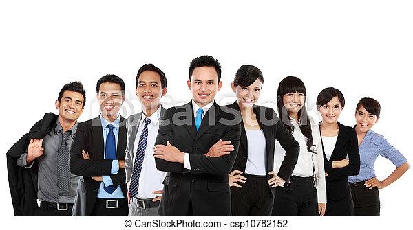 Asiatisches Geschäftsteam - csp10782152