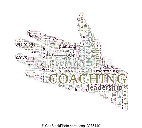 begriff, wort, -, hand, portion, trainieren, vektor, wolke - csp13978110