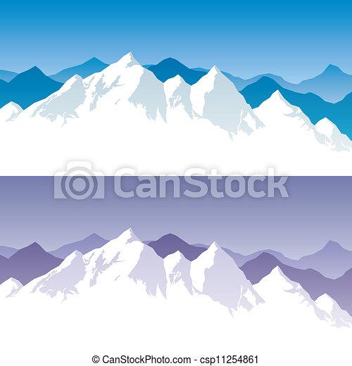 Bergreichweite - csp11254861