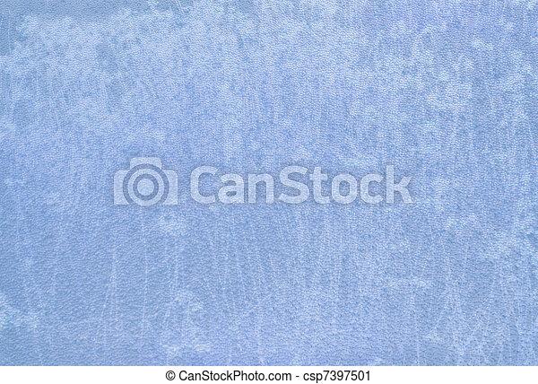 beschaffenheit, blauer stoff, hintergrund, licht - csp7397501