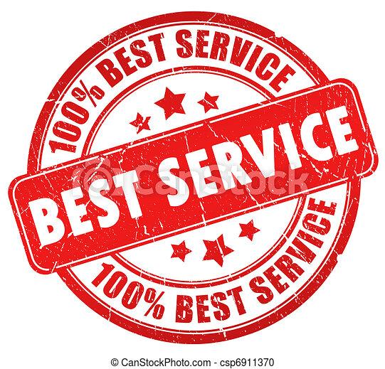 Bester Service - csp6911370