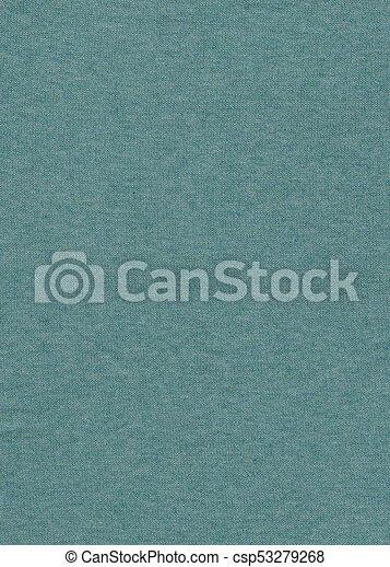 blaues grün, beschaffenheit, hintergrund, stoff - csp53279268