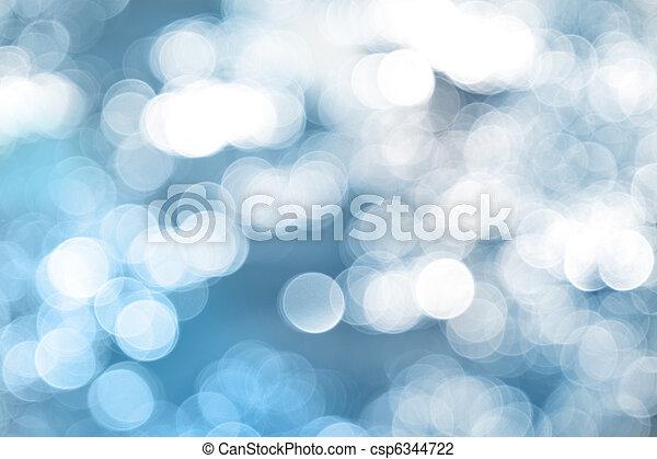 Blaues Licht im Hintergrund. - csp6344722