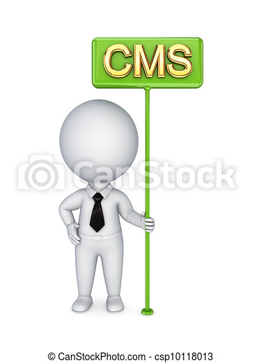 cms., bunner, person, 3d, klein - csp10118013