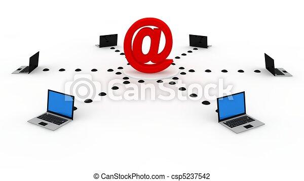 Computernetzwerk - csp5237542