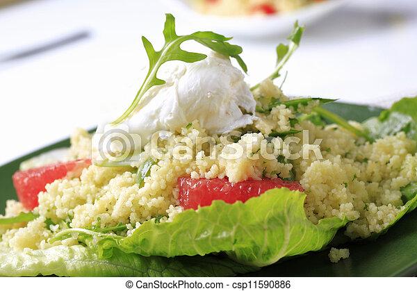 Couscous Appetithäppchen - csp11590886