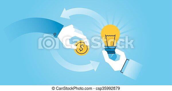 Crowdfunding - csp35992879
