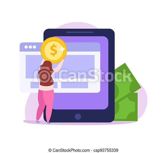 crowdfunding, wohnung, ikone - csp93755339