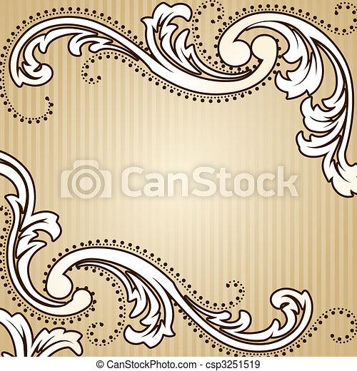 Der klassische Sepia Hintergrund - csp3251519