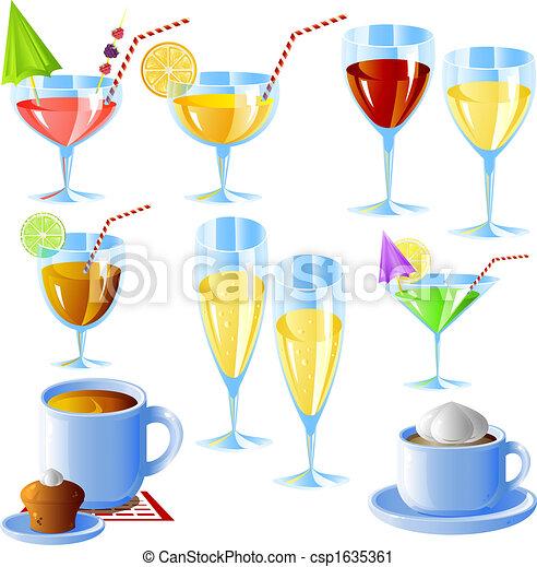 Drinks bereit - csp1635361