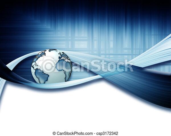 Dynamische Welt - csp3172342