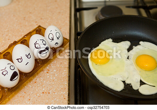 Eier kochen - csp32754703