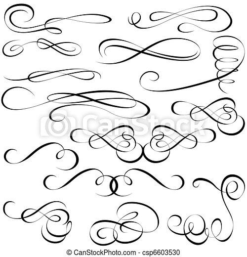 elemente, calligraphic - csp6603530