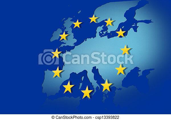 Europäische Union - csp13393822