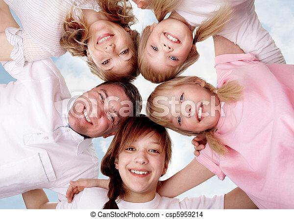Familienvereinigung - csp5959214