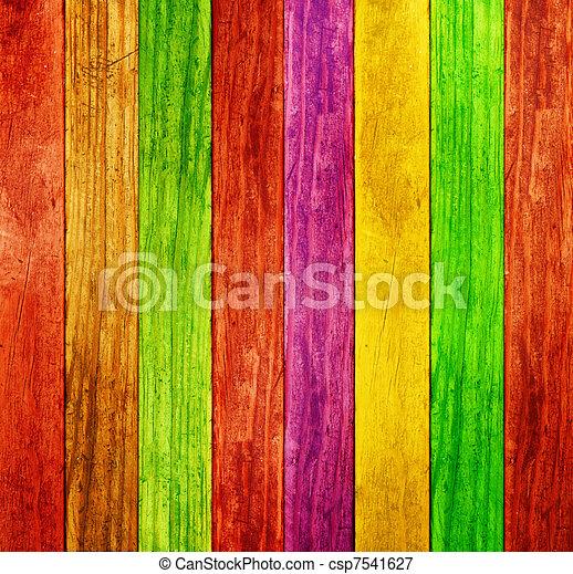 farbe, holz, hintergrund - csp7541627