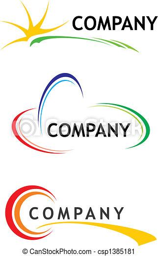 Firmenlogos - csp1385181
