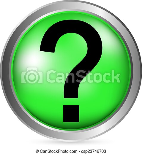 Fragetaste - csp23746703