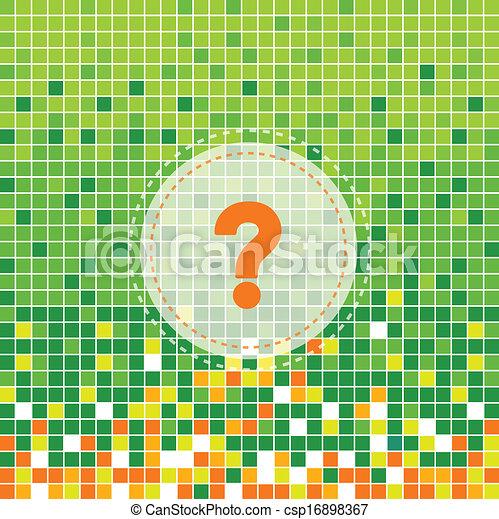 Fragezeichen - csp16898367