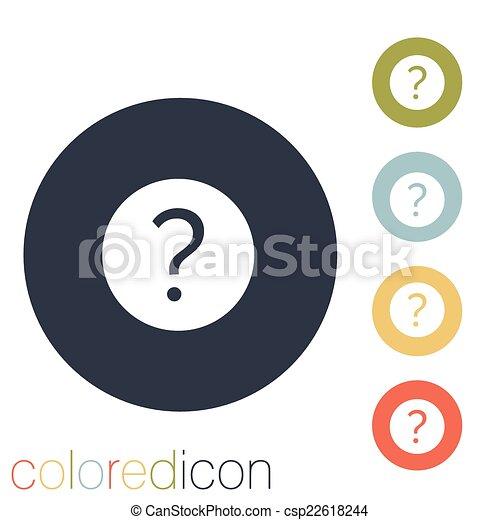 Fragezeichen. - csp22618244