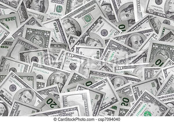 geld, hintergrund - csp7094040