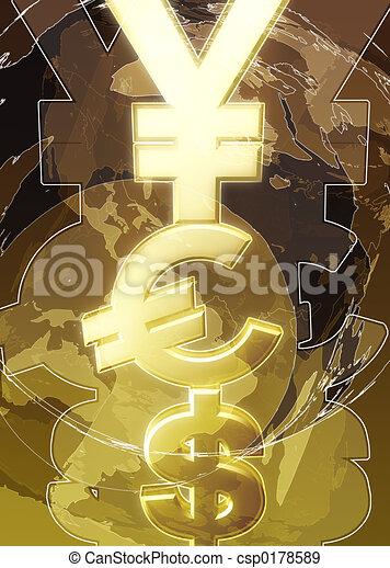 geld, ja, 01, bg - csp0178589