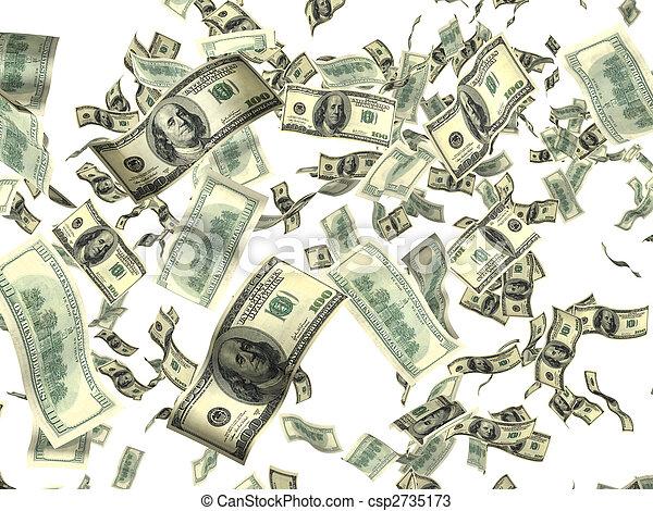 geld, weißes - csp2735173