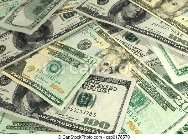 Geld, Generika 01 - csp0178570