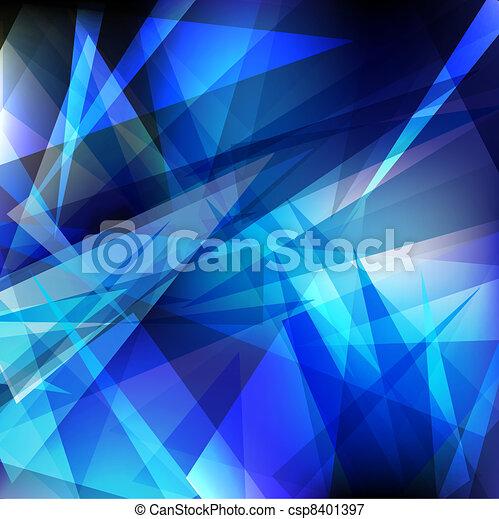 Glänzende geometrisch - csp8401397