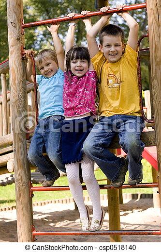 Glückliche Kinder - csp0518140