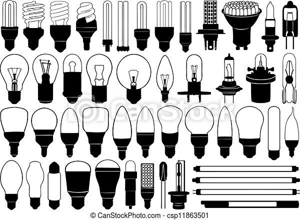 Glühbirnen bereit - csp11863501