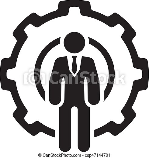 Global Support Icon. Flat Design. - csp47144701