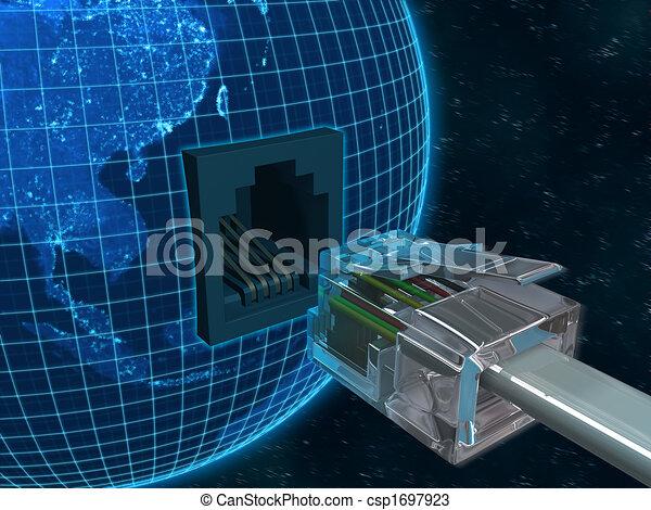 Globale Kommunikation - csp1697923