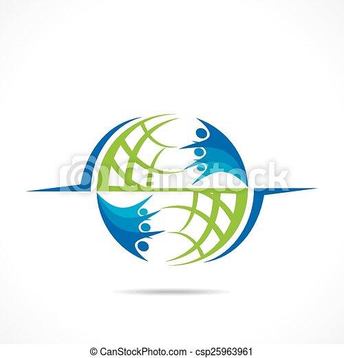Globale Unterstützung. - csp25963961