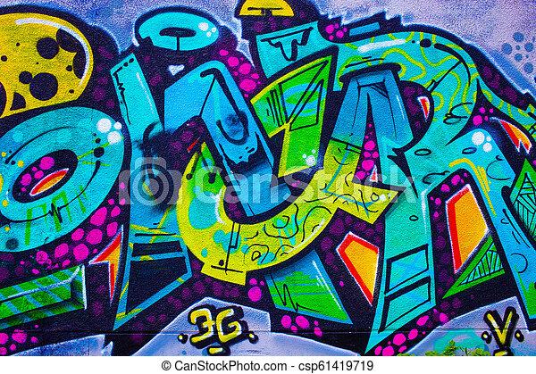 graffiti, detail - csp61419719