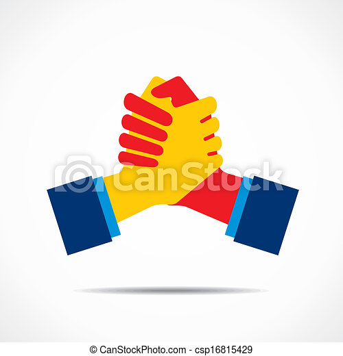 Handshake Icon - csp16815429