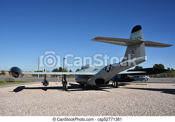 Hill Aerospace Museum in Utah. - csp52771381