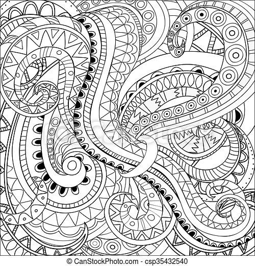 Moderner, abstrakter Hintergrund - csp35432540