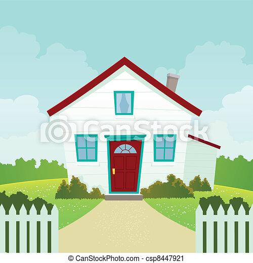 House. - csp8447921
