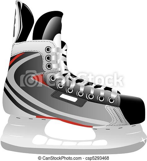 Eishockey-Skate - csp5293468