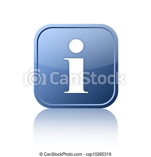 Informationszeichen - csp10265319